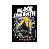 FDKJ Black Sabbath Tapete, Poster, dekoratives Gemälde,