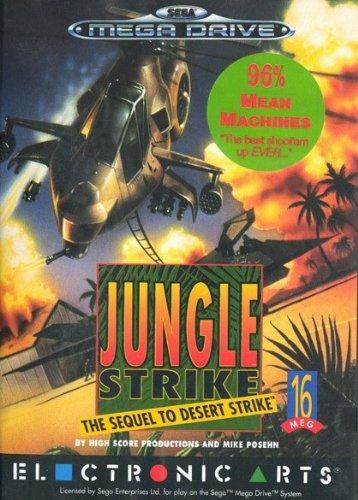 Jungle Strike - The Sequel to Desert Strike (Mega Drive) oA gebr.