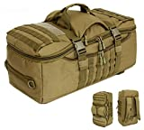"""Crazy Ants 24"""" Tactical Molle Backpack Hiking Camping Multifunction Outdoor Shoulder Tote Duffel"""