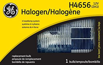 GE Lighting H4656 Standard Automotive Halogen Sealed Beam Replacement Bulb