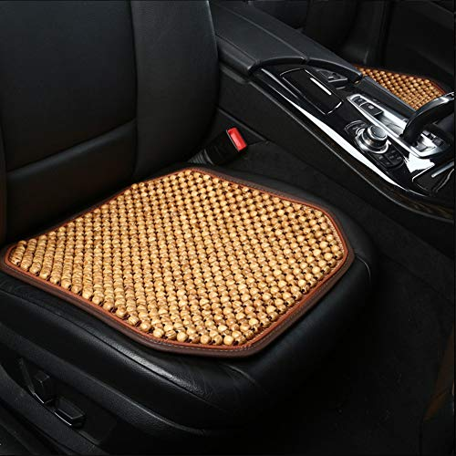 Dr.OX Natural Wood Beaded Seat Cover Massaging Cushion for Car Truck or Your Office Chair (US-04)