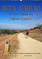 Buen Camino - Auf dem Jakobsweg - Camino Francés (Wandkalender 2022 DIN A2 hoch): Der Jakobsweg - endlos lang und beschwerlich, aber auch ein Weg der Kraft und Zuversicht. (Monatskalender, 14 Seiten )