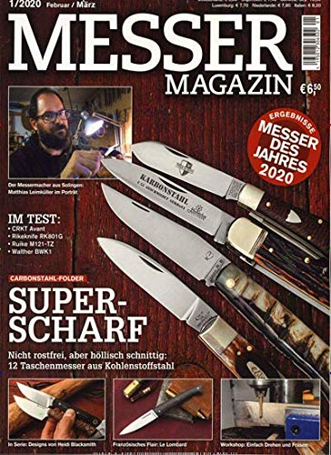 "Messer Magazin 1/2020 \""Messer Magazin\"""