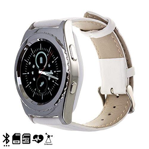 Silica DMS004WHITESILVER Smartwatch Bluetooth g5, weiß/Silber