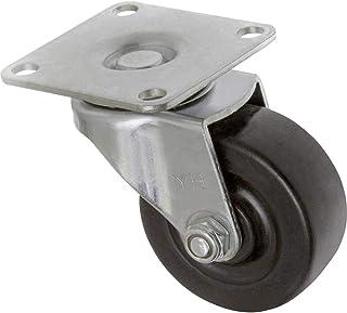 TOOLCRAFT TO-5137884 Zwenkwiel rubber 50 mm met schroefplaat