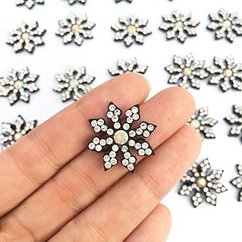LLine 30st Diy Patchstoffenopstrijkbare Patches voor kledingPatches voor kledingStrass broek bloem