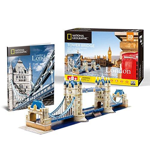 National Geographic – London – Tower Bridge – 3D Puzzle