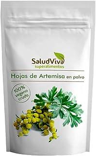 Saludviva Salud Viva Hoja DE ARTEMISA EN Polvo 100 gr, Negro, Normal