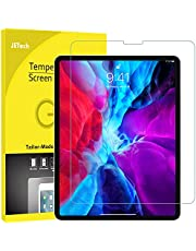 JETech Screen Protector for iPad Pro 12.9-Inch Edge to Edge Liquid Retina Display, Face ID Compatible, Tempered Glass Film