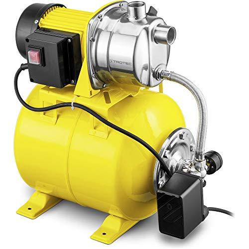 TROTEC TGP 1025 ES Hauswasserwerk Gartenpumpe Wasserwerk Wasserpumpe 3.300 l/h Förderleistung 1.000 Watt
