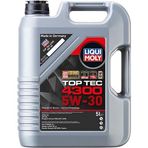 LIQUI MOLY 3741 Top Tec 4300 Motoröl 5 W-30 5 L