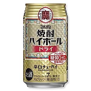 "TaKaRa 焼酎ハイボール ドライ [ チューハイ 350mlx24本 ]"""