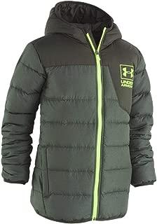 Under Armour Boys' Heather Swarmdown Hooded Jacket