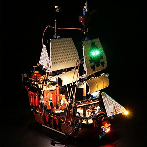 Kit De IluminacióN Led Para Barco Pirata, Juego De Juguetes Compatible Con Lego 31109(No Incluye El Modelo)