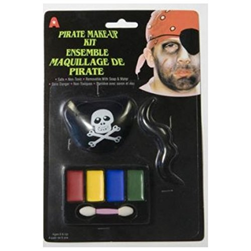 Atosa Kit Maquillage de Pirate