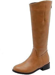 BalaMasa Womens ABS14162 Pu Boots