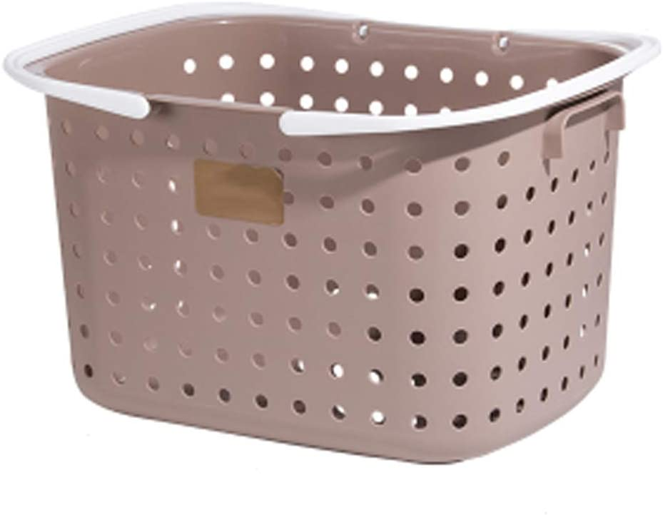 QVIVI Now free shipping Dirty Clothes Storage Laundry service Simple Hampe Plastic Basket