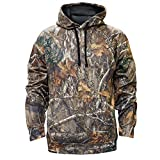 Staghorn Mens Polyester Camo Hoodie, Realtree Edge Frame, X-Large