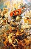 Kunstdruck/Poster: Peter Paul Rubens Der Engelsturz -