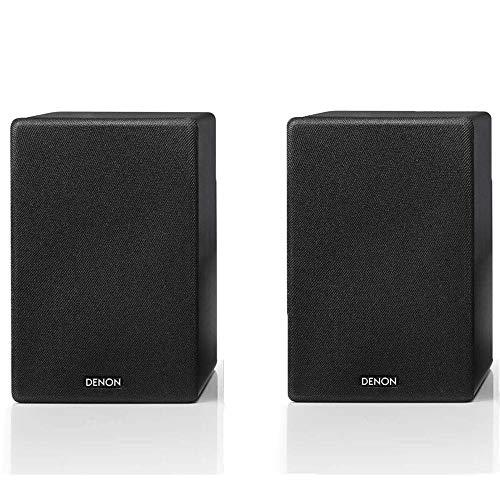 Denon SC-N10 - Altavoces para estantería (2 x 65 W, serie CEOL, puerto Bass Reflex | Perfecto para habitaciones y casas más pequeñas, compatible con una amplia gama de amplificadores y receptores, par
