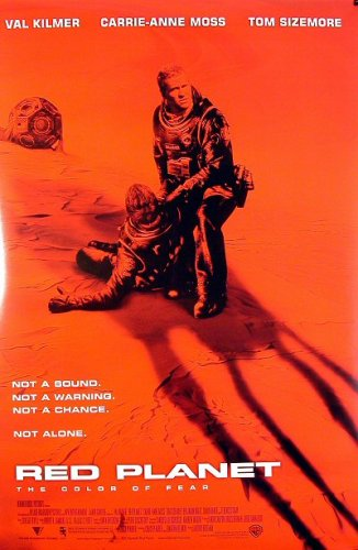 Red Planet - 2000 - Original 27x40 Movie Poster - Val Kilmer - Collectible