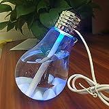 Humidificador bombilla LED de 2 W para salón hogar cocina oficina recepción