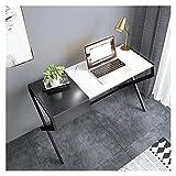 Schreib Tisch Moderner einfacher Stil Home Büroschreibtisch Imitation Marmormuster PC. Laptop...