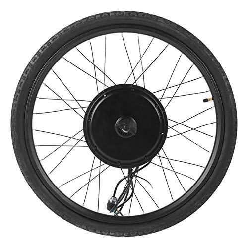 DAUERHAFT Juego de conversión de Bicicleta Save Energy Performance 48V 1000W Juego de conversión de Motor de Rueda Delantera para Bicicleta eléctrica, para convertir Cualquier Bicicleta con Ruedas de