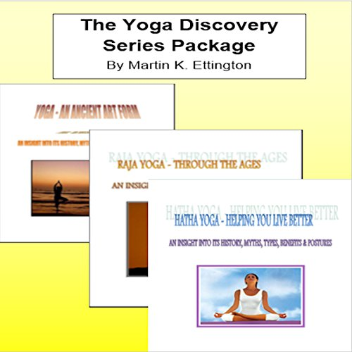 The Yoga Discovery Series Package audiobook cover art