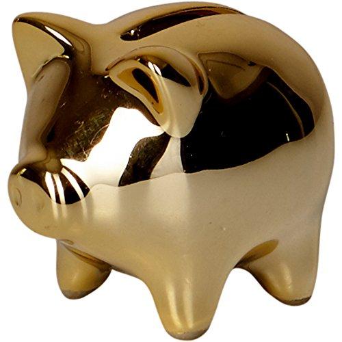 Spiegelburg 14301 Mini-Sparschwein (Keramik) Viel Glück