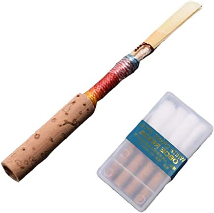 IBaste 4 pezzi Advanced Oboe Reeds, spessore medio Soft Handmade Oboe foglie strumento musicale accessori