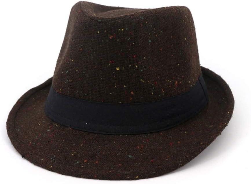 HHHCM-US Unisex Women Men Wool New Shipping Free Shipping Winter Jazz Hat Autumn Fedora Max 40% OFF
