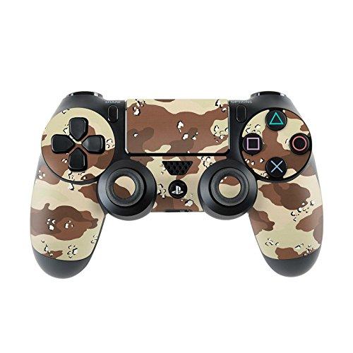 Skins4u Aufkleber Skin Designfolie Controller Schutzfolie kompatibel zu Sony Playstation 4 Controller PS4 Desert Camo Camouflage