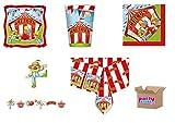Circus Party Coordinato di Carta da tavola per...