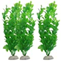Ularma 3-Piece Aquarium Fish Tank Plants Green Water Grass Decorative Ornament 10.6 inch from Ularma