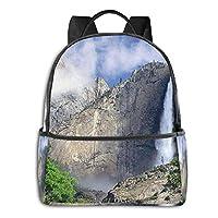 ヨセミテ国立公園 リュックバック リュックナップザック バッグ ノートパソコン用のバッグ 大容量 バックパックチ キャンパス バックパック 大人のバックパック 旅行 ハイキングナップザック