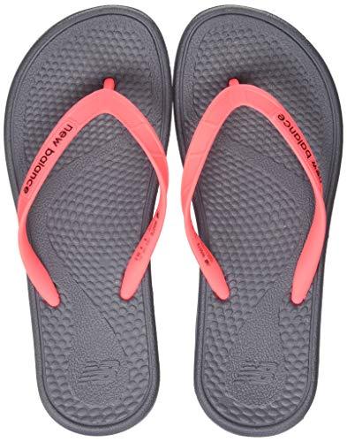 New Balance W6076, Zapatos Playa Piscina Mujer, Negro