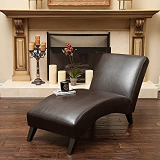 Best brown faux leather chaise Reviews