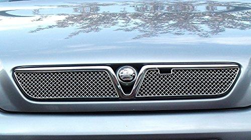 Zunsport Compatible con Vauxhall Astra Conjunto de Parrilla Delantera Superior - Acabado Plata (De 2001 a 2005)