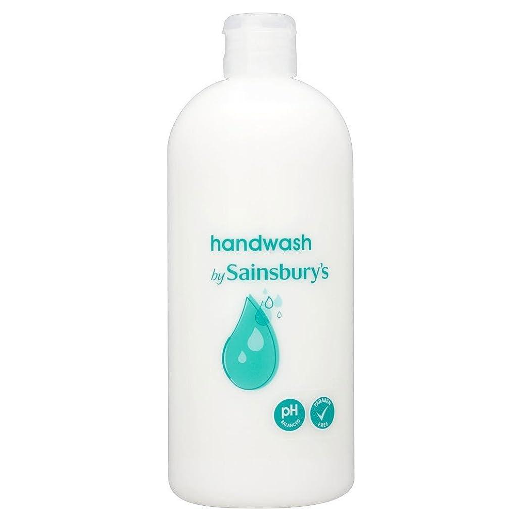メール与える会員Sainsbury's Handwash, White Refill 500ml (Pack of 6) - (Sainsbury's) 手洗い、白リフィル500ミリリットル (x6) [並行輸入品]