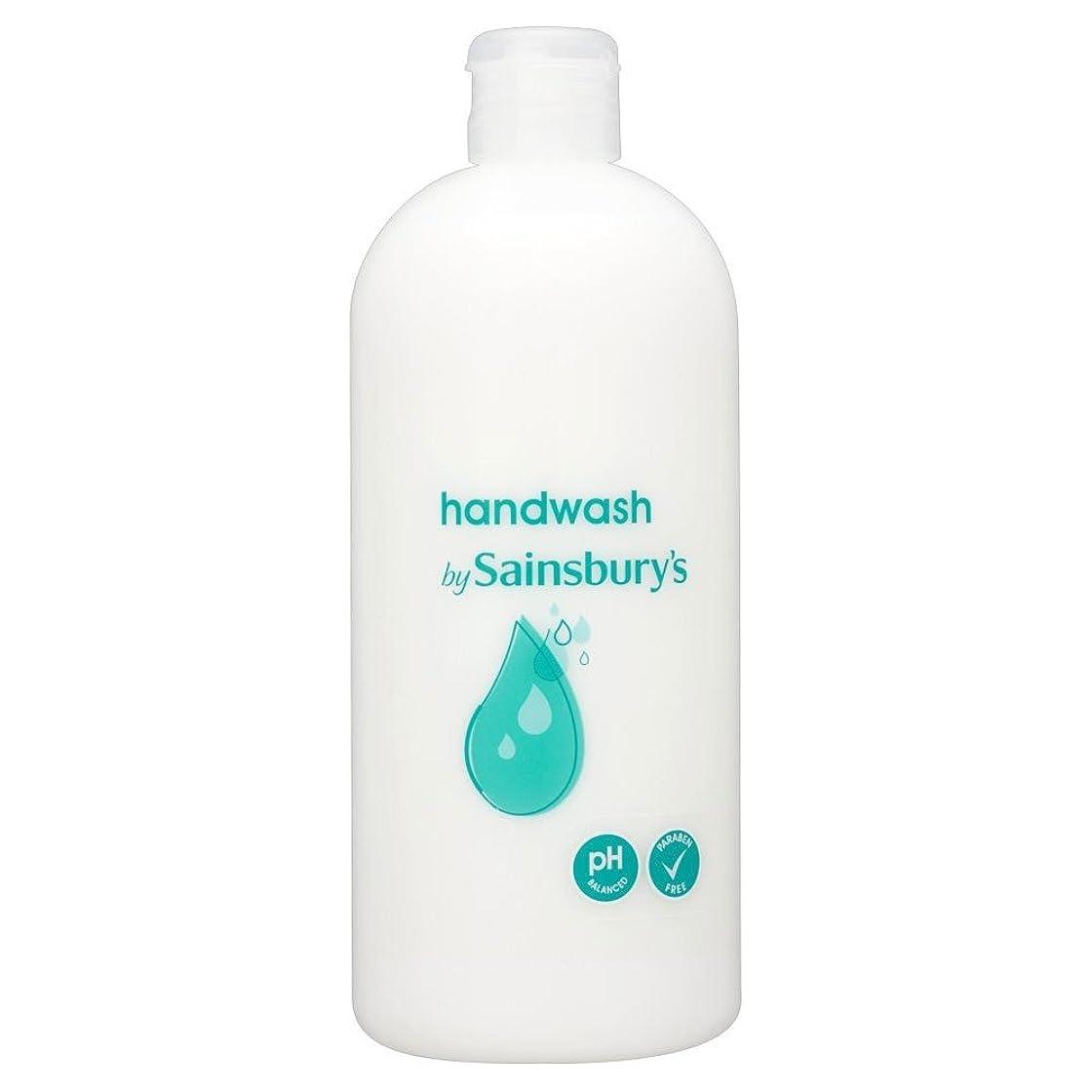 辞任彼女の回転させるSainsbury's Handwash, White Refill 500ml (Pack of 6) - (Sainsbury's) 手洗い、白リフィル500ミリリットル (x6) [並行輸入品]