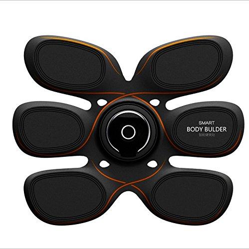 Cinturones masaje EMS Estimuladores eléctricos Entrenador Abs Estómago Cinturón de tonificación muscular...