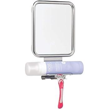 360 Grados Libre de Vapor e Ideal para Afeitarse Espejo de Ducha Claro 1X