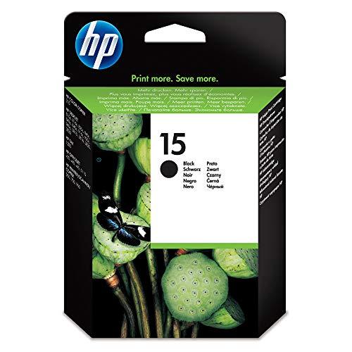 HP 15XL schwarz Original Druckerpatrone mit hoher Reichweite für HP Deskjet, HP Officejet, HP PCS