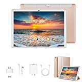 2020 Tablette Tactile 10 Pouces 4G Call FHD - 3Go RAM 32/128Go ROM Android 9.0 Tablet PC Quad Core Batterie 8500mAh Dual SIM Dual Caméra WiFi,Bluetooth,GPS,OTG(Or)