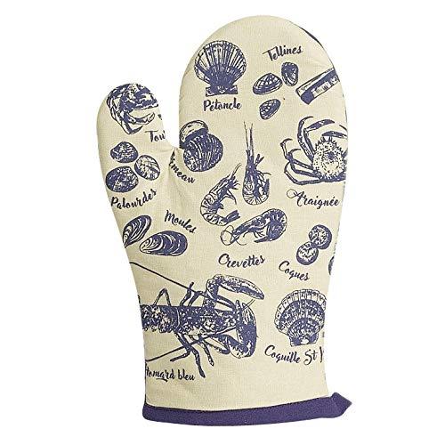 Winkler - Gant de cuisine - Gant de four - Gant plats chauds - Gant résistance chaleur - Intérieur doux - Accessoire cuisine - Pêche à pied