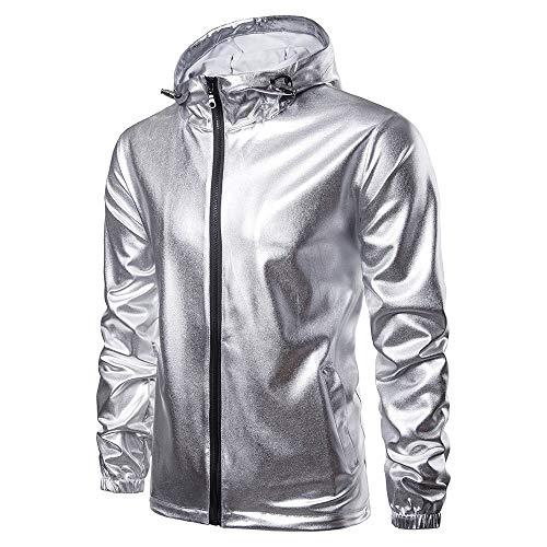 Beonzale Männer Casual Herbst Langarm Hoodie Solid Outwear Coat Sweatshirt Softshell Jacke Outdoor Funktionsjacke Freizeitjacke