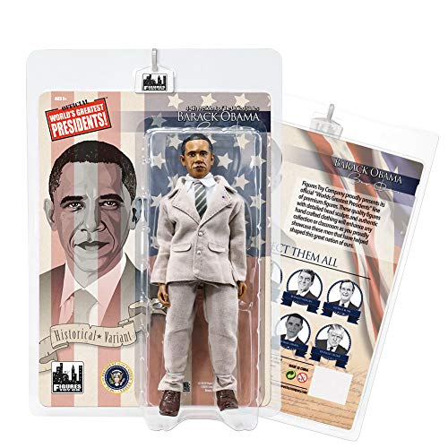 US Presidents 8 Inch Action Figures Series: Barack Obama [Tan Suit Variant]