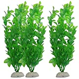 ZHANGJIAN Artificial Green Seaweed Vivid Water Plants Plástico Fish Tank Plant Decoraciones para Acuario Fácil de operar (Color : NO.1, Size : One Size)
