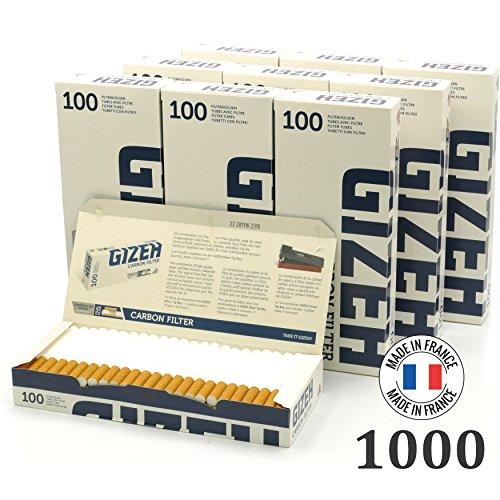 Gizeh Gizeh Carbon Filter Zigarettenhülsen
